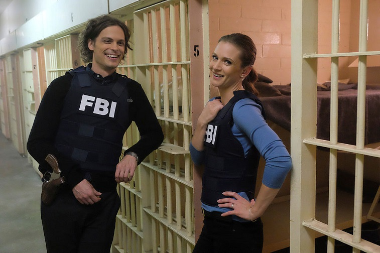 Matthew Gray Gubler and A.J. Cook