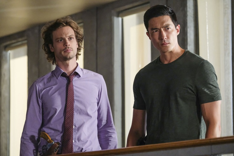 Matthew Gray Gubler and Daniel Henney