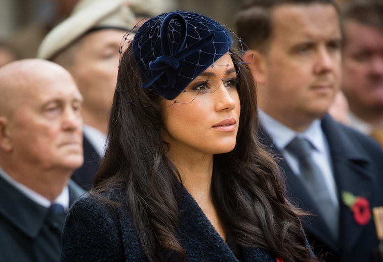 Meghan Markle at Westminster Abbey