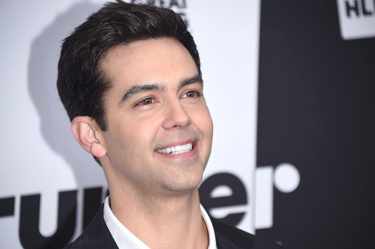 Michael Carbonaro on the red carpet