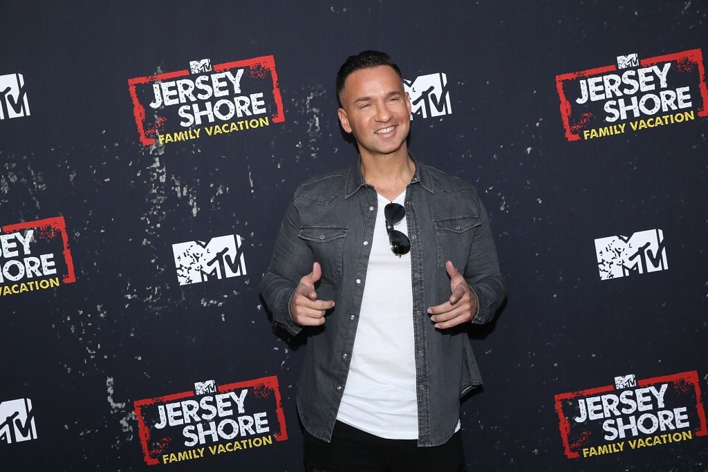 """Mike 'The Situation' Sorrentino attends the """"Jersey Shore Family Vacation"""" Global Premiere"""