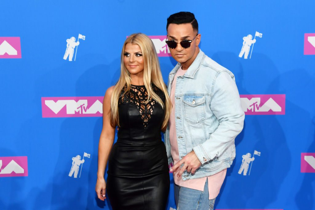 Lauren and Mike Sorrentino attend the 2018 MTV Video Music Awards