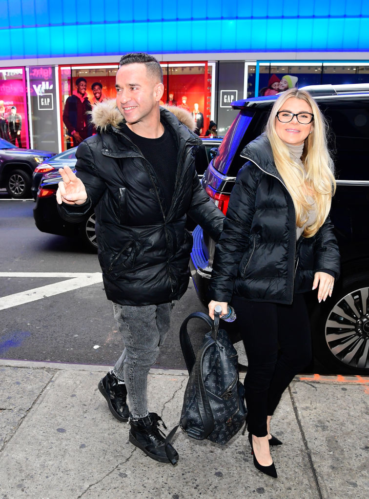 """Mike """"The Situation"""" Sorrentino and Lauren Pesce Sorrentino"""