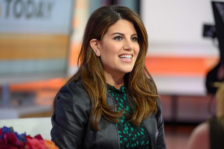 Monica Lewinsky smiles for the camera