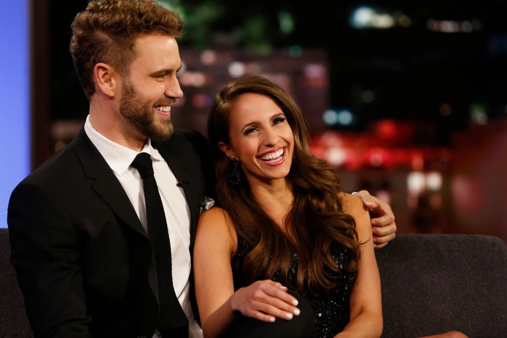 Nick Viall and Vanessa Grimaldi | Randy Holmes/Walt Disney Television via Getty Images