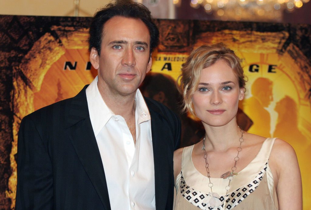 National Treasure Nicolas Cage and Diane Kruger
