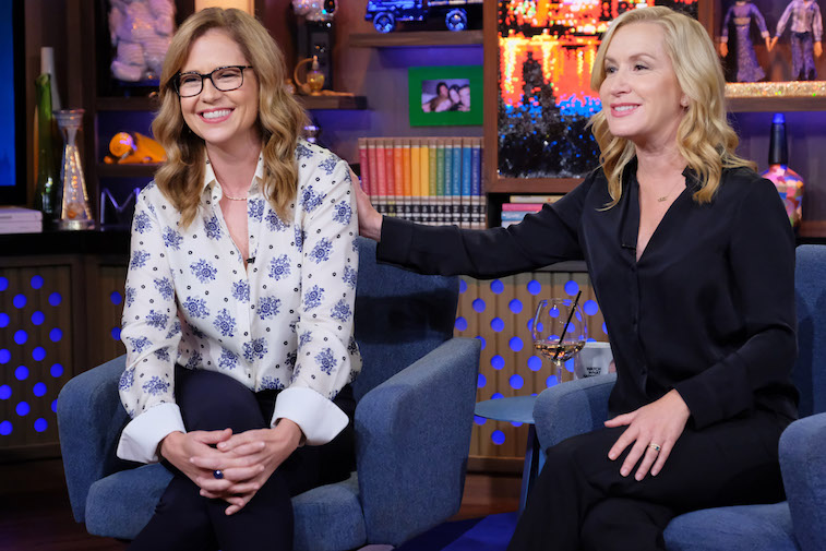 Jenna Fischer and Angela Kinsey on 'Live With Andy Cohen'