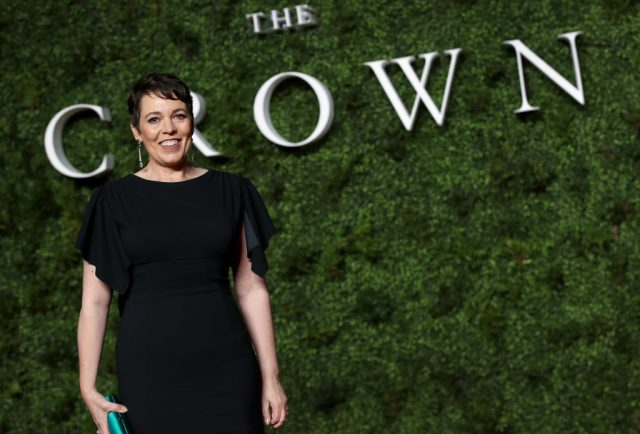 Olivia Colman at the Season 3 premiere of 'The Crown'