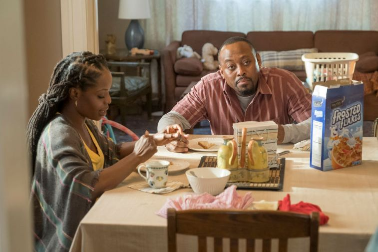 Omar Epps and Marsha Stephanie Blake on 'This Is Us'