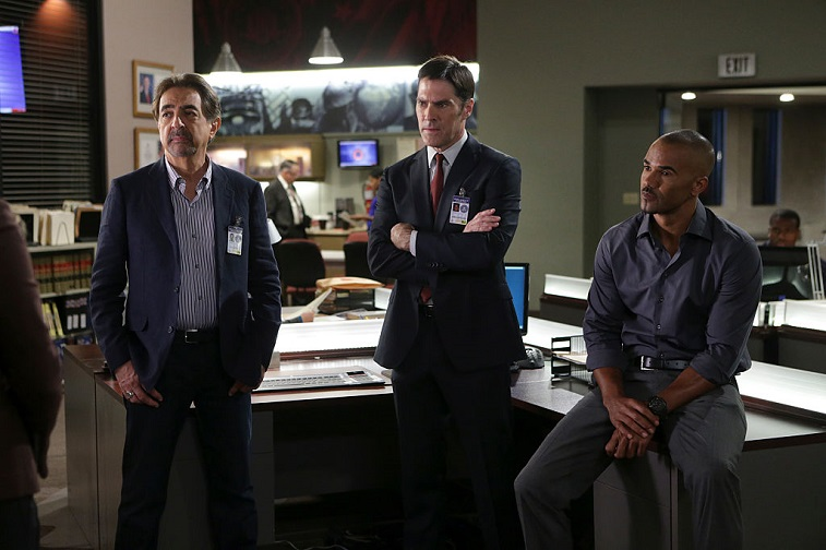 Joe Mantegna, Thomas Gibson, and Shemar Moore