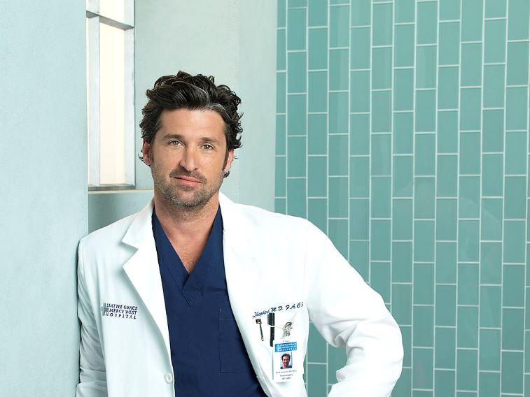 Dr Doctor Derek Shepherd Medical  Drivers License Grey/'s Anatomy Patrick Dempsey