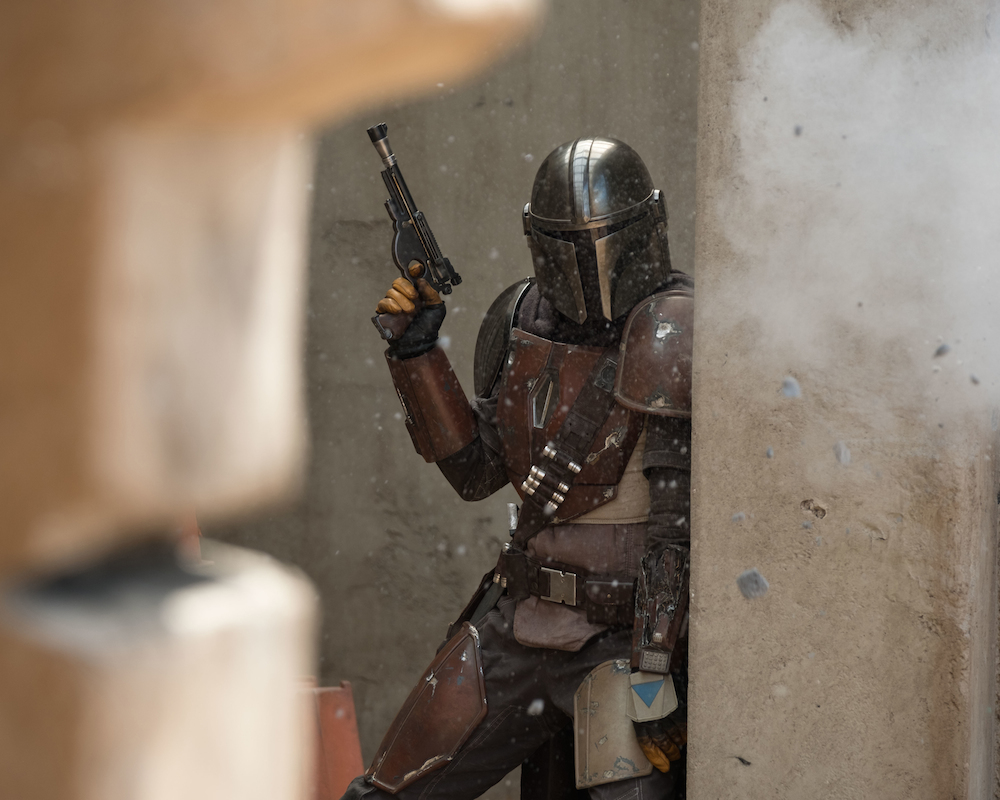 Pedro Pascal as The Mandalorian
