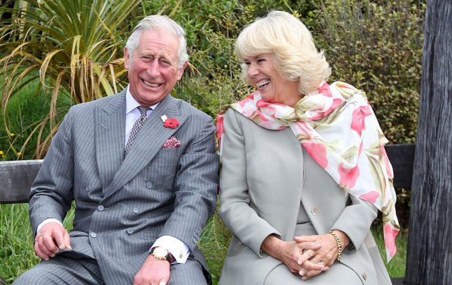 Prince Charles and Camilla, Duchess of Cornwall in 2015