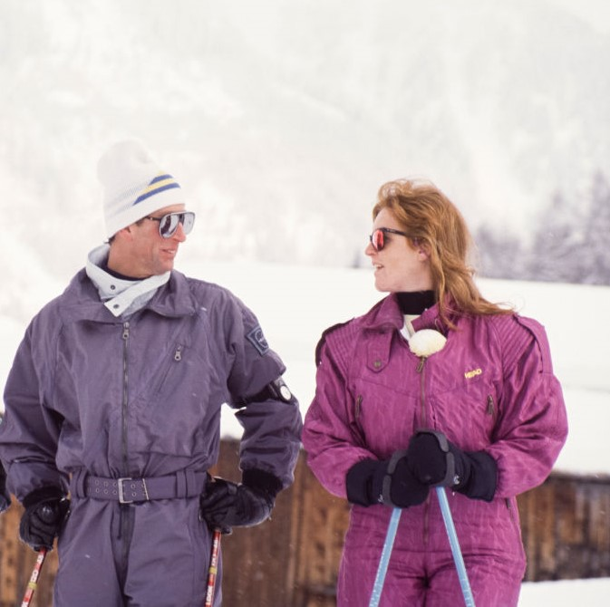 Prince Charles and Sarah Ferguson