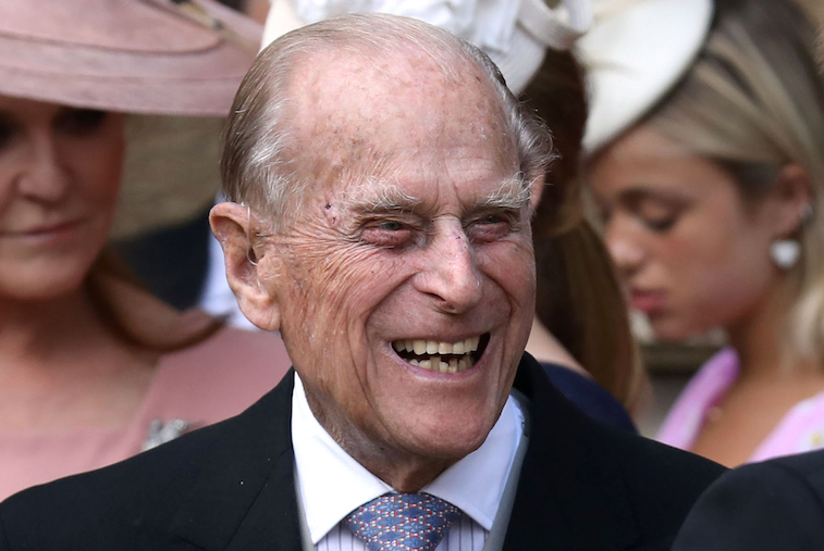 Prince Philip at a formal event