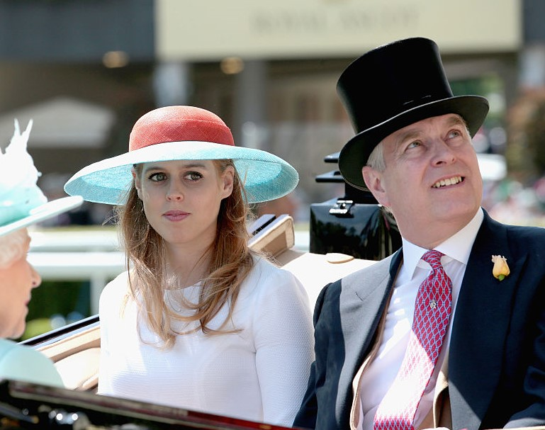 Princess Beatrice and Prince Andrew
