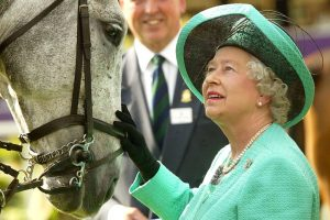 Queen Elizabeth Just Did Something Slightly Dangerous for a 93-Year-Old Person