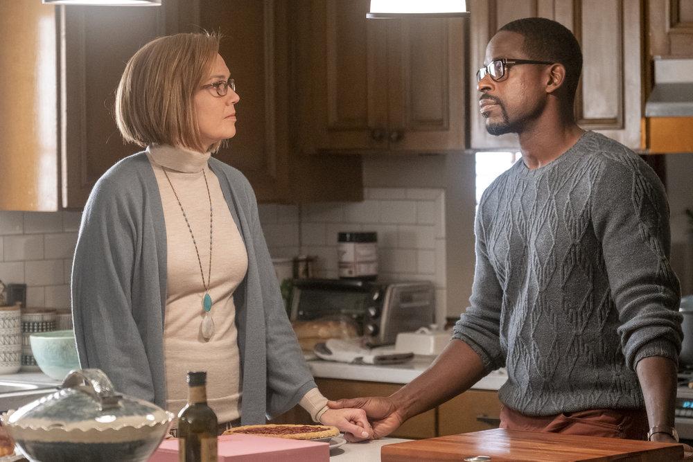 Mandy Moore as Rebecca, Sterling K. Brown as Randall in 'This Is Us' Season 4