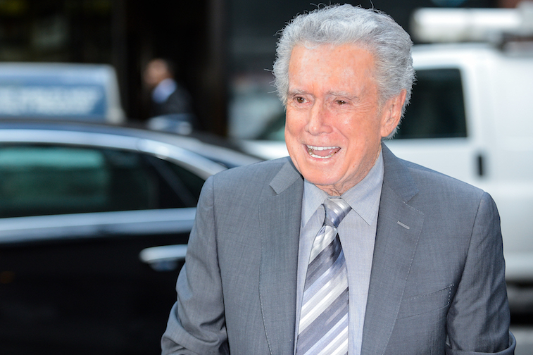 Regis Philbin on the Today Show