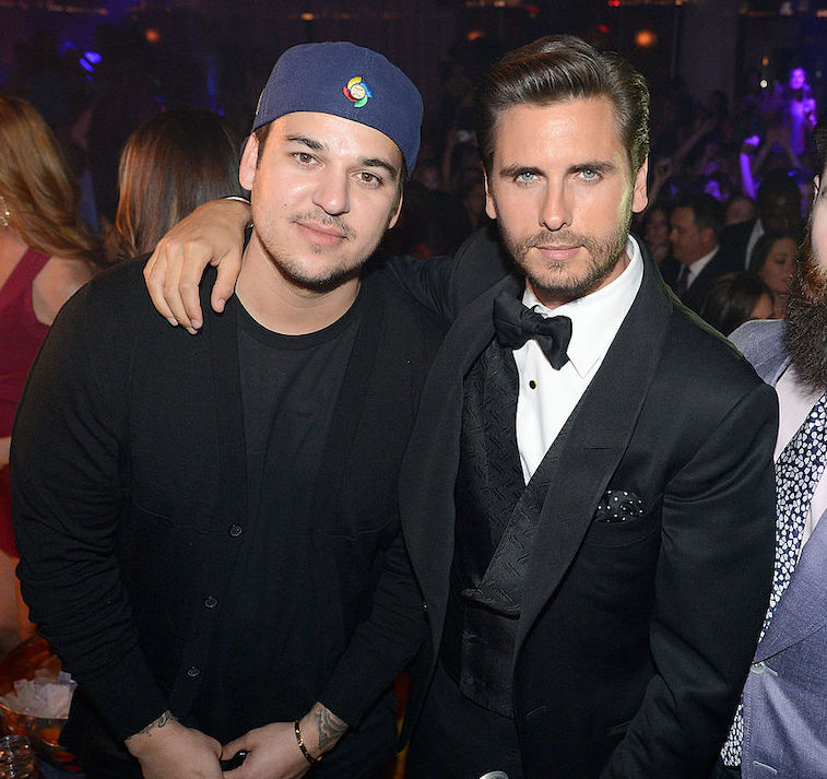 Rob Kardashian and Scott Disick