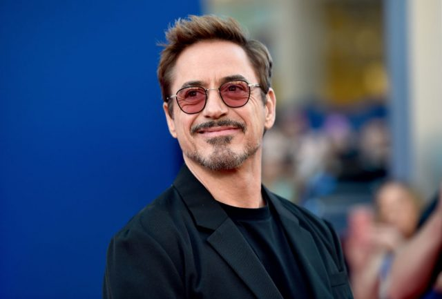 Robert Downey Jr. at the premiere of 'Spider-Man: Homecoming' in 2017