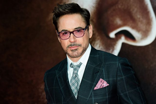 Robert Downey Jr. at the premiere of 'The First Avenger: Civil War' in 2016