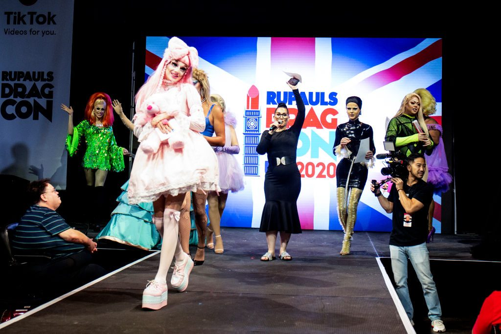 Michelle Visage and the cast of 'RuPaul's Drag Race UK'