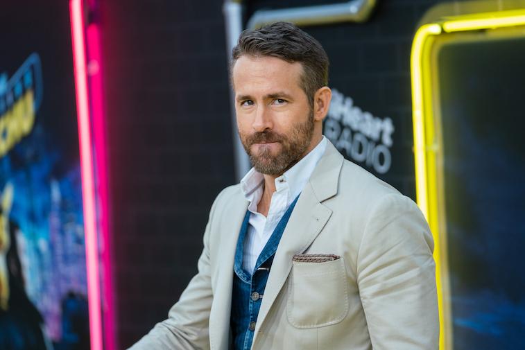 Ryan Reynolds on the red carpet