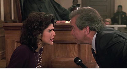 Marisa Tomei and Lane Smith in 'My Cousin Vinny'