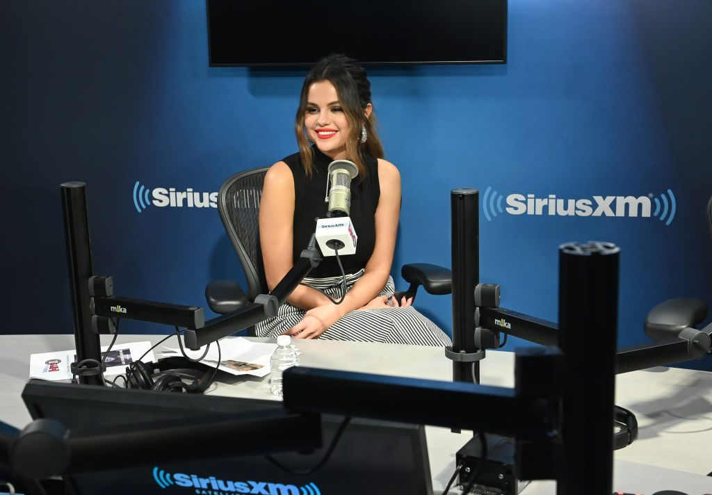 Selena Gomez visits Sirius XM radio to talk about her Number 1 hit Lose You To Love Me