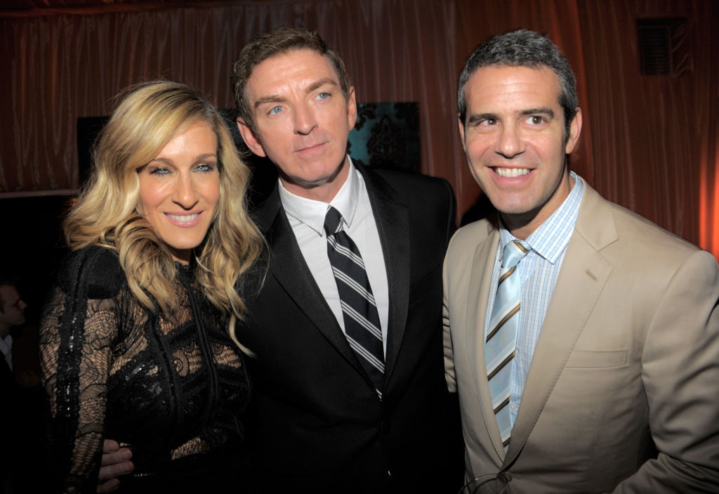 Sarah Jessica Parker, Michael Patrick King and Andy Cohen