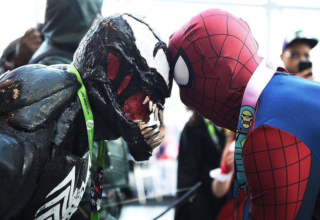 Spider-Man and Venom NY Comic Con