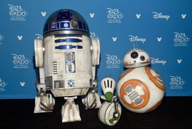 R2-D2, BB-8, and D-O of 'Star Wars: The Rise of Skywalker'