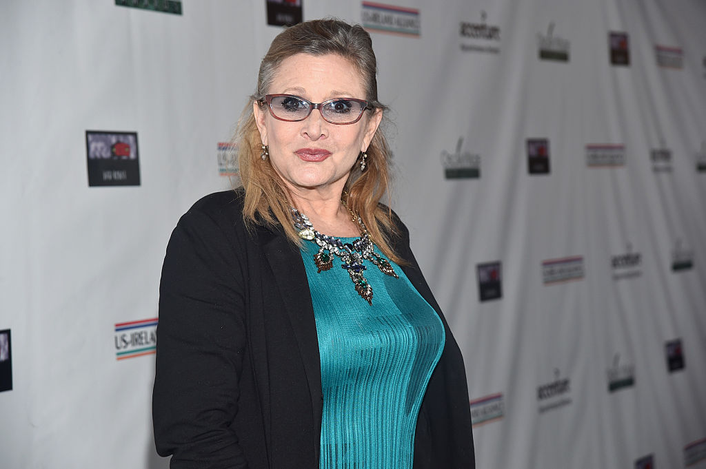 was carrie fisher cgi in the rise of skywalker