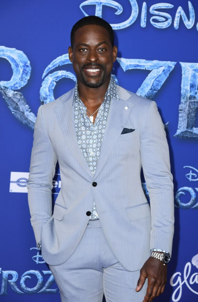 Sterling K. Brownat the 'Frozen 2' Premiere