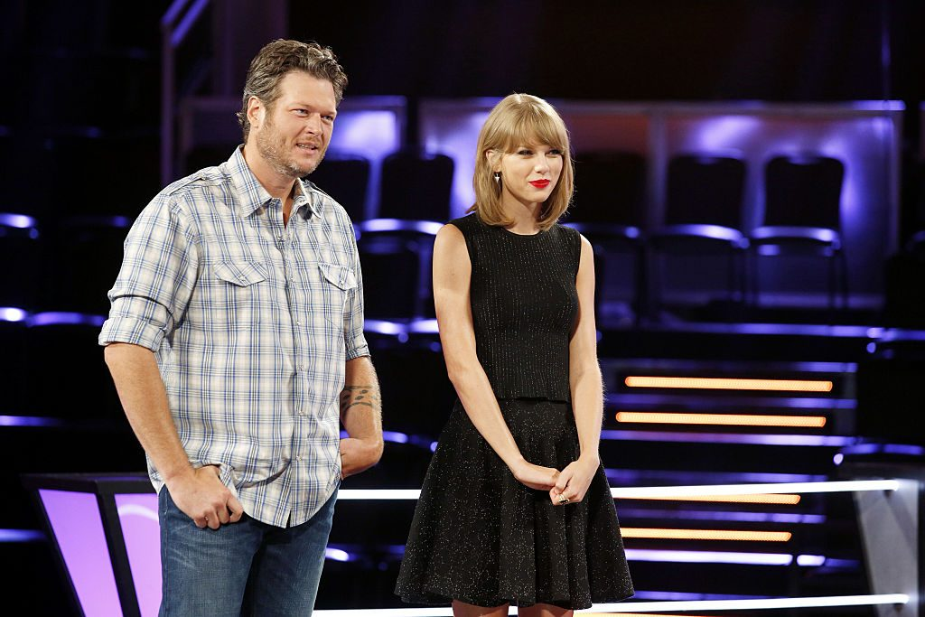 Blake Shelton and Taylor Swift on 'The Voice'