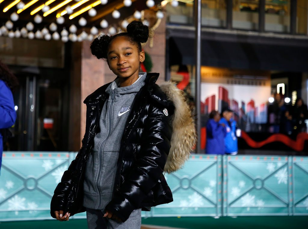 That Girl Lay Lay practices before the the 93rd Annual Macy's Thanksgiving Day Parade at Macy's Herald Square | John Lamparski/Getty Images