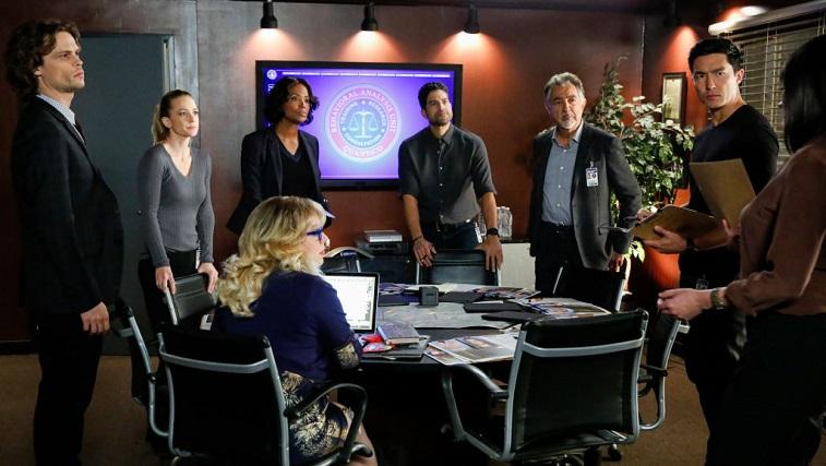 The cast of 'Criminal Minds'
