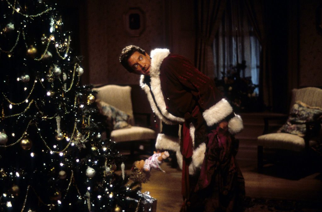 Tim Allen as Santa Claus from the film 'The Santa Clause', 1994