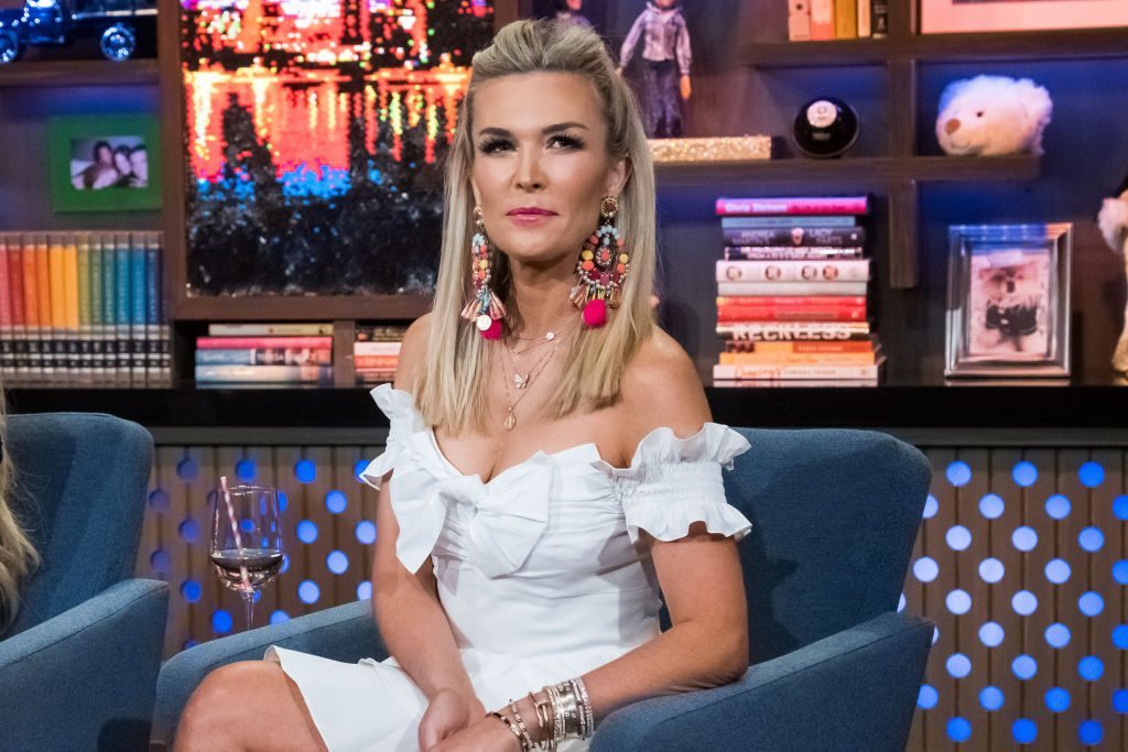 Tinsley Mortimer on 'Watch What Happens Live'