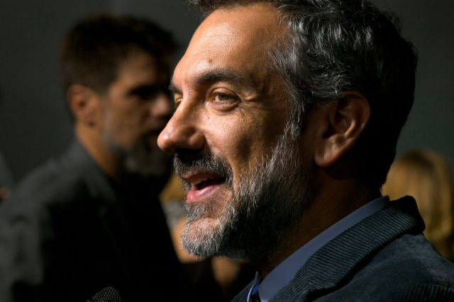 Todd Phillips at the premiere of 'Joker'