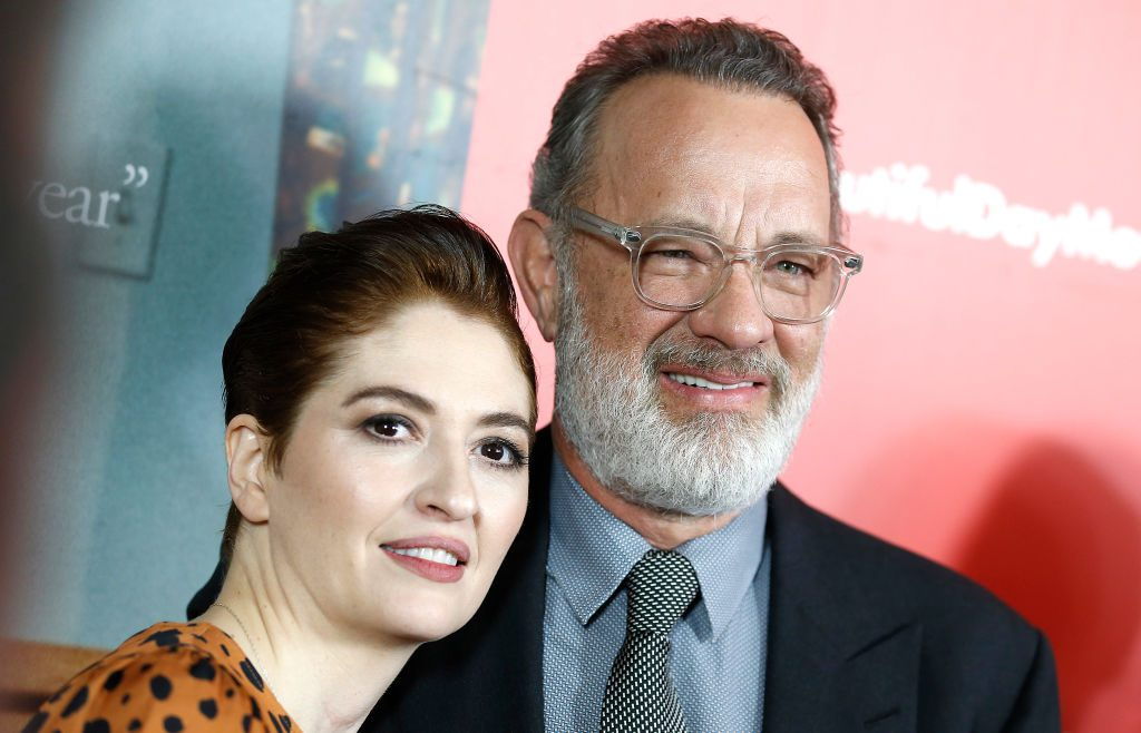 "Marielle Heller and Tom Hanks attends""A Beautiful Day In The Neighborhood"" New York screening"