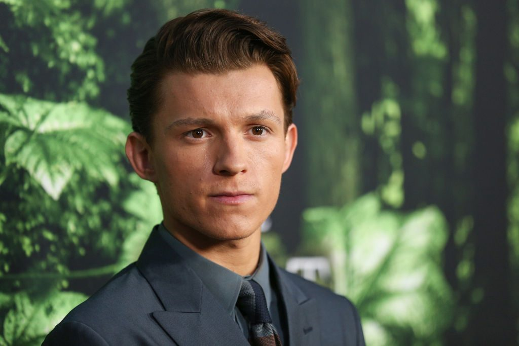 Tom Holland of Spider-Man