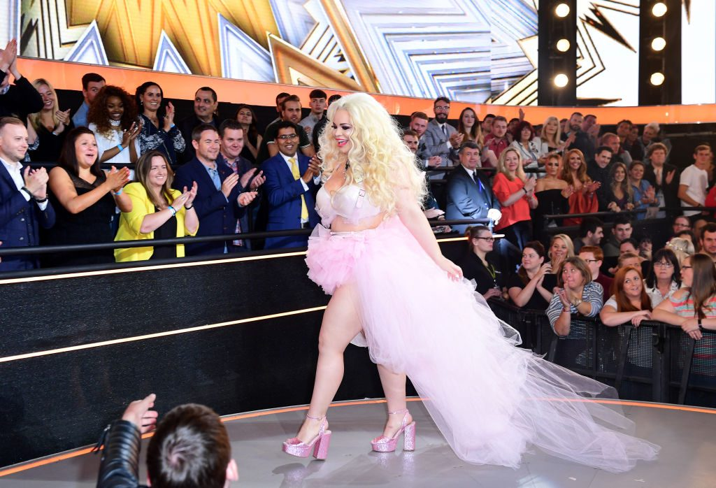 Trisha Paytas enters the 'Celebrity Big Brother' house