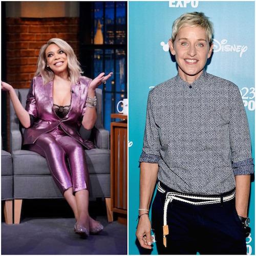 Wendy Williams and Ellen DeGeneres