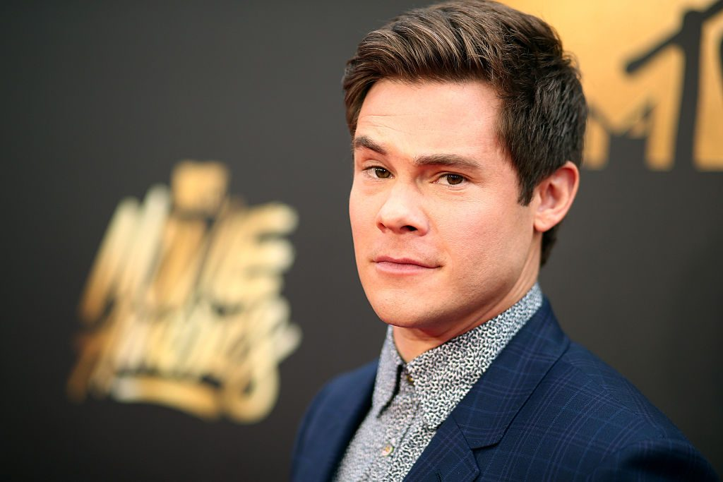 Adam DeVine attends the 2016 MTV Movie Awards.