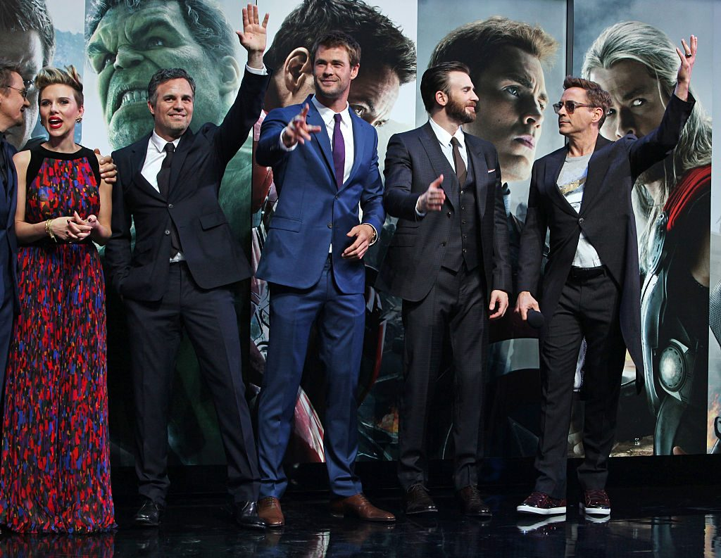 'Avengers: Age Of Ultron' premiere