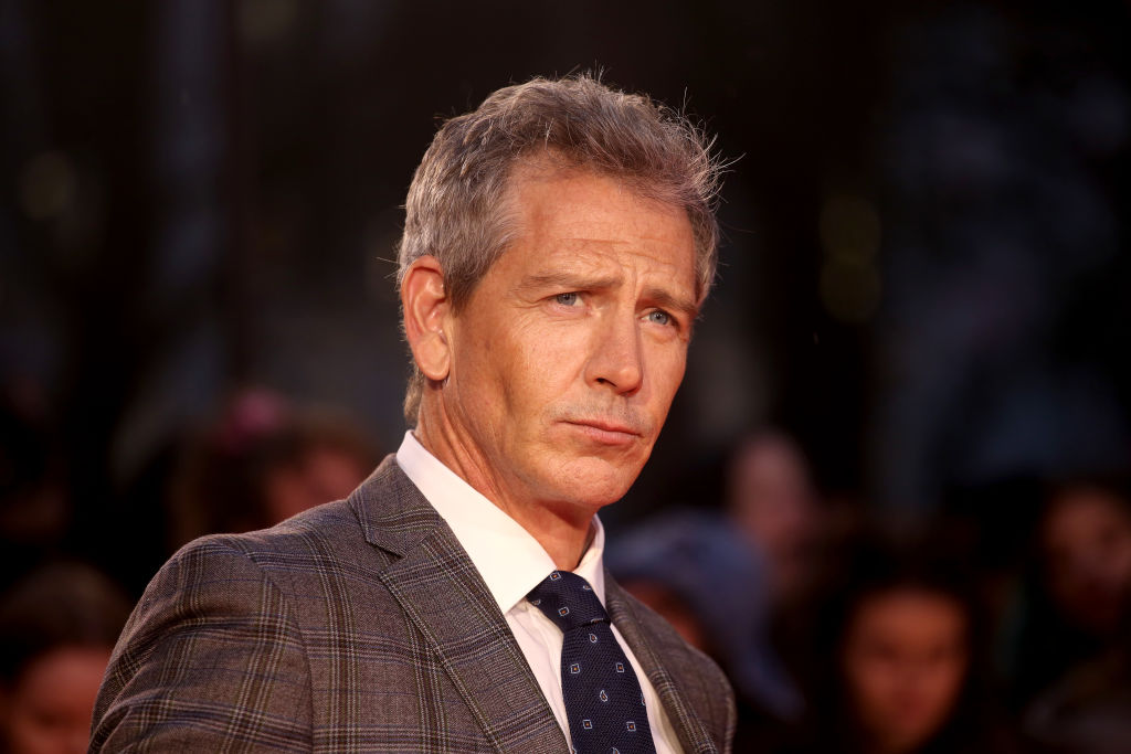 Ben Mendelsohn on the red carpet at the premiere for 'The King.'