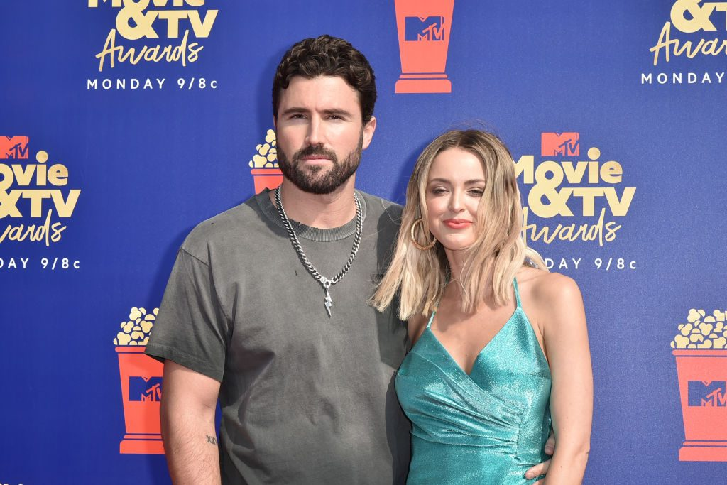 Brody Jenner and Kaitlynn Carter attend the 2019 MTV Movie & TV Awards.