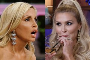 'RHOBH': Brandi Glanville Calls Camille Grammer a 'Coward' on Twitter and Fans React